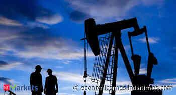 Oil plunges 5% as coronavirus cases surge, US crude stockpiles swell - Economic Times