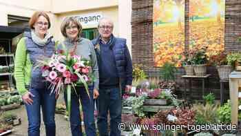 Blumen Kaimer wird 25 Jahre alt