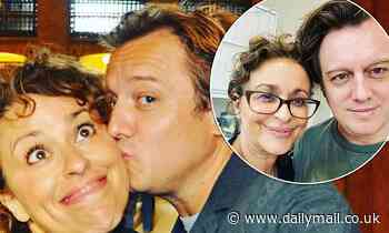 Nadia Sawalha honours husband Mark Adderley as he marks 16 years sober