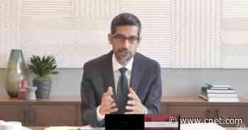 Google CEO Sundar Pichai testifies before Congress video     - CNET