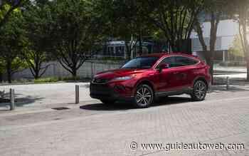 La Toyota Venza est de retour au Québec