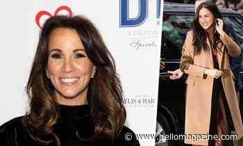Andrea McLean's latest outfit has major Meghan Markle vibes