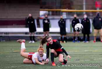 Girls' soccer: Scarborough finishes off South Portland, 2-0 - Press Herald