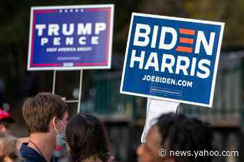 2020 election polls – live: Biden storms ahead in Michigan and Wisconsin polls as 70m vote early