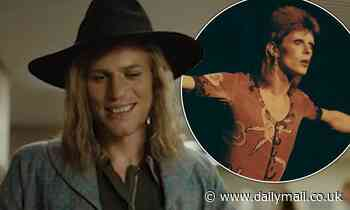 Johnny Flynn transforms into David Bowie in first Stardust trailer