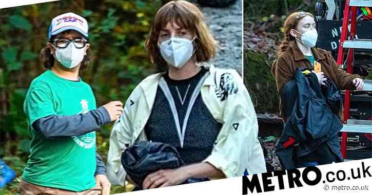 Stranger Things: Maya Hawke is spotted on set of season 4 and her teenage co-stars are looking so grown up