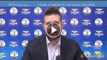 """Parla il sindaco 'disobbediente' di Borgosesia Paolo Tiramani che multa i delatori: """"Si odiano anche in Parlamento, figuriamoci tra vicini di casa"""" - La7"""