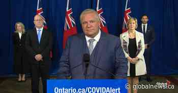 Doug Ford says Ontario's coronavirus numbers 'moving in right direction'
