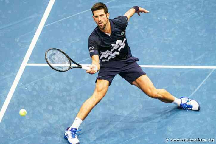 ATP Vienna: Novak Djokovic edges Borna Coric to match Pete Sampras' record