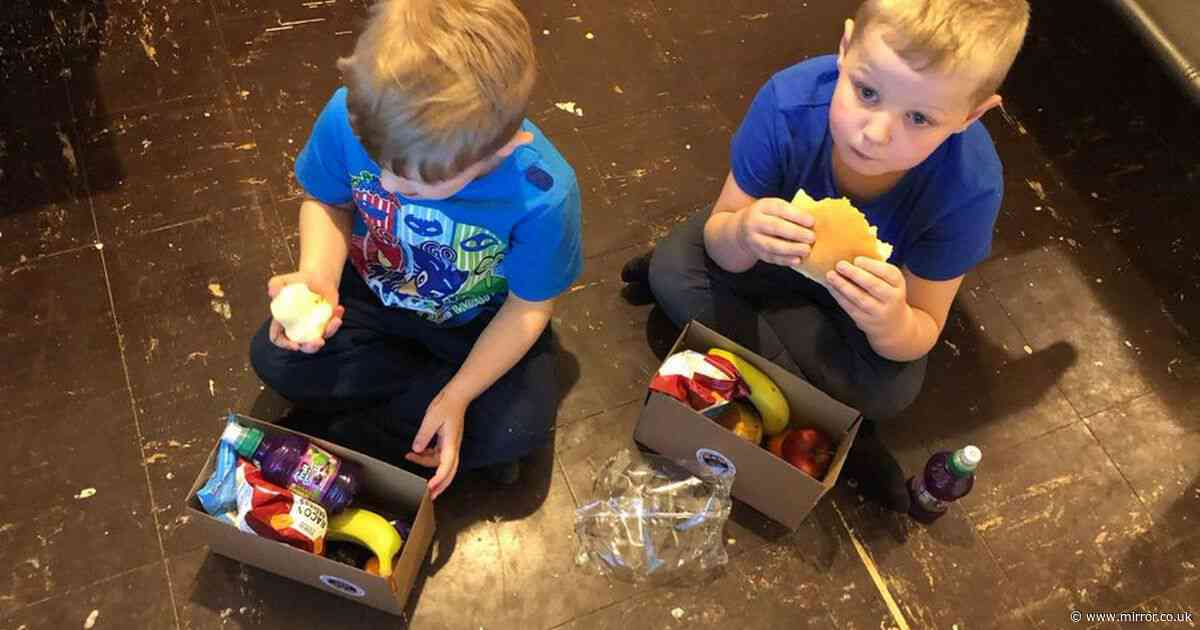 Brothers, 4 and 7, eat vital meal thanks to Marcus Rashford after mum lost job