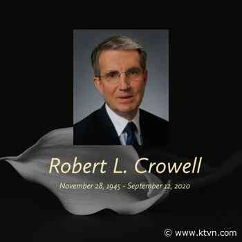 Flags to Fly Half-Staff in Honor of Carson City Mayor Robert 'Bob' Crowell