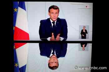 Coronavirus live updates: French President Emmanuel Macron imposes new nationwide lockdown as coronavirus cases surge - CNBC