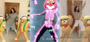 Snapchat Adds New 3D Body Scan Lenses for Halloween