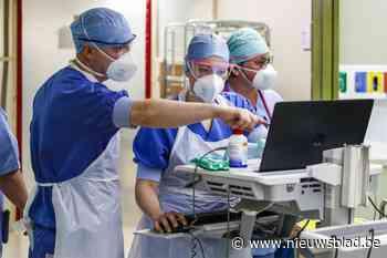 Nieuw triest record: meer dan honderd Covid-patiënten in het ziekenhuis - Het Nieuwsblad