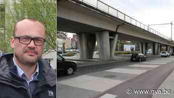 """""""Litteken door de stad"""" wordt binnenkort opgefleurd met tekeningen en licht - Gazet van Antwerpen"""