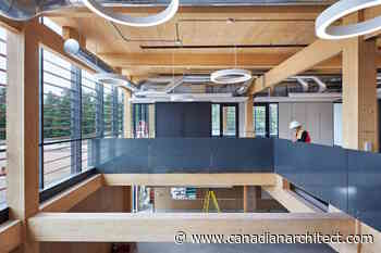NRCan invests in mass timber buildings for Chalk River Laboratories - Canadian Architect