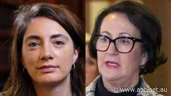 Female Liberal ministers hit back at 'junior' senator over abortion law reform criticism