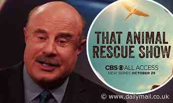 Dr. Phil McGraw gives a sneak peek into his heartwarming new docuseries That Animal Rescue Show