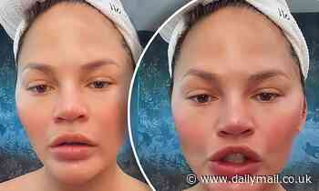 Chrissy Teigen hilariously demands to know what happened to the 'pretty filter'