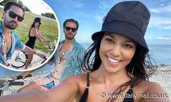 Kourtney Kardashian and Scott Disick prove to be the friendliest exes during tropical holiday