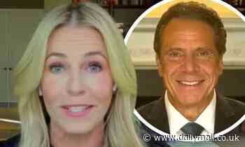 Chelsea Handler calls New York Governor Andrew Cuomo a 'big Italian hunk' but says he ghosted her