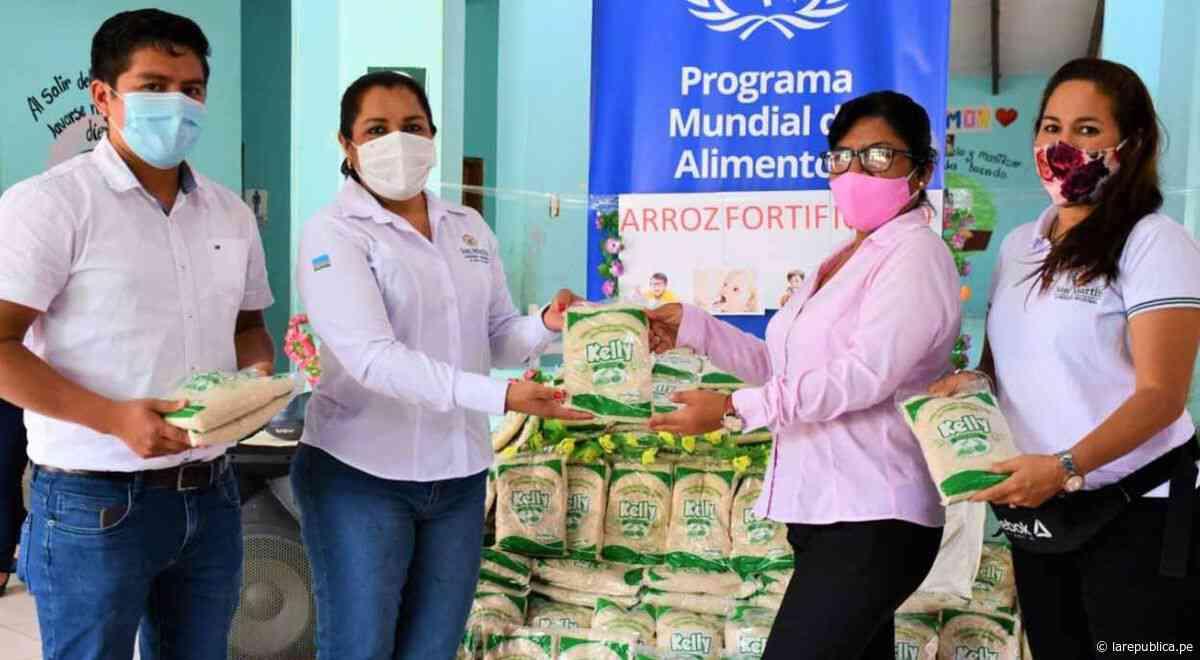 San Martín: entregan arroz fortificado para combatir anemia en niños de albergue infantil - LaRepública.pe