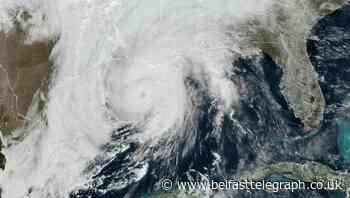 Hurricane Zeta crashes onshore in storm-weary Louisiana