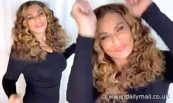 Beyonce's mother Tina Knowles, 66, breaks out her moves and dances to Kelly Rowland's song Crazy