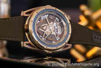 Une montre de plongée aux couleurs du feu chez De Bethune - Journal de la Haute Horlogerie