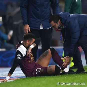 Neymar injured but Kean lifts PSG in UCL win
