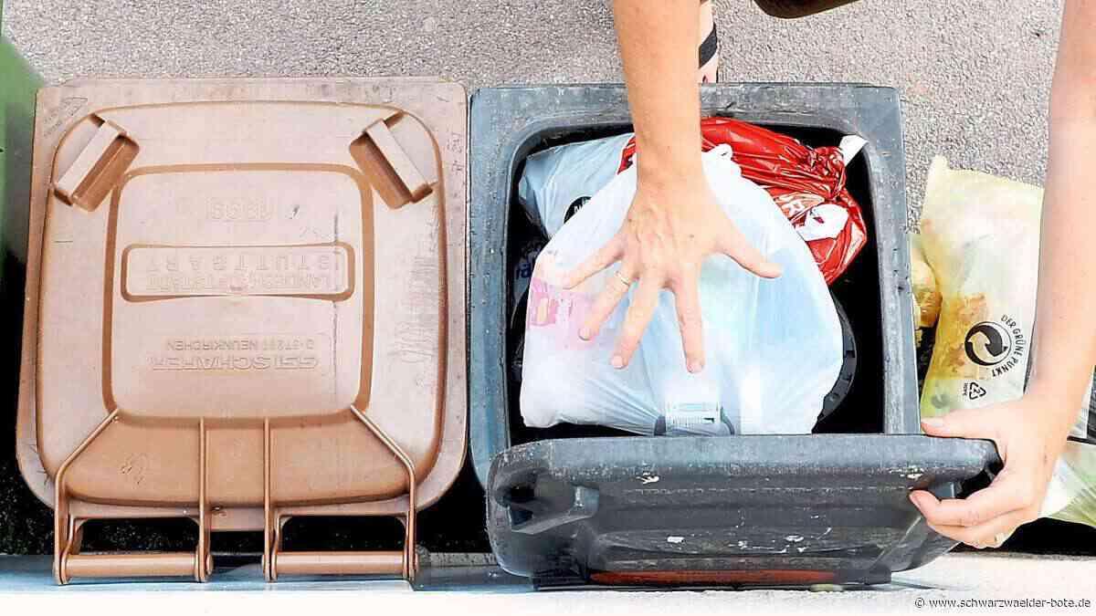 Corona im Kreis Rottweil: Müll aus Quarantäne-Haushalten ein Risiko - Schwarzwälder Bote