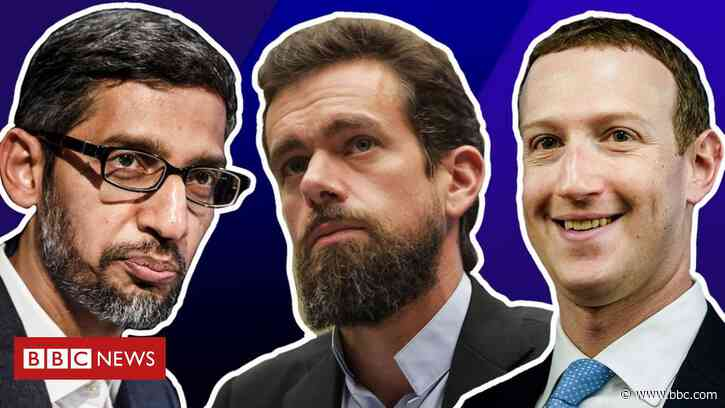 Facebook, Twitter and Google face questions from US senators - BBC News