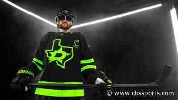 Twitter reacts to Dallas Stars' new neon green 'Blackout' jerseys - CBS Sports