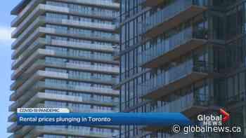 Toronto rental prices drop again amid coronavirus pandemic