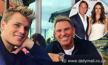 Shane Warne's son Jackson reveals his family's close bond to Elizabeth Hurley and her son Damian