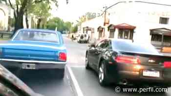 Video: inhabilitan a dos conductores por correr picadas en Morón - Perfil.com