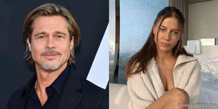 Brad Pitt & Nicole Poturalski Reportedly Break Up After Just A Few Months Together