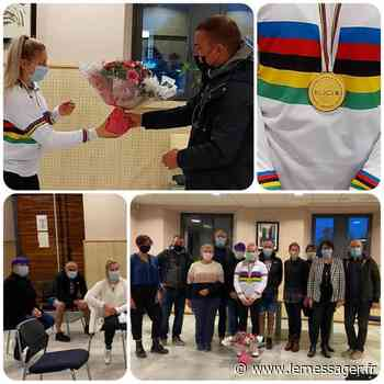 Reignier-Esery : la championne du monde Lauryne Chappaz à l'honneur - Le Messager