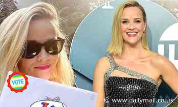 Reese Witherspoon opens up about her political aspirations and  running for senate someday
