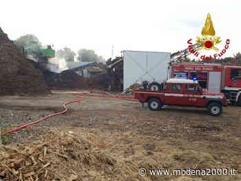 Incendio nell'impianto di smaltimento biomasse di Crespellano - Modena 2000