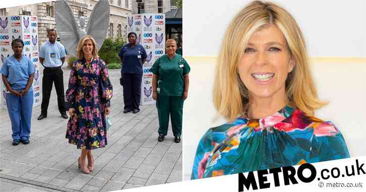 Kate Garraway thanks NHS heroes at Pride of Britain filming amid husband Derek's coronavirus battle