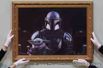 Portrait of Baby Yoda unveiled at National Portrait Gallery pop-up
