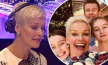 Jessica Rowe reveals she dislocated her knee while dancing in a TikTok video with her daughters