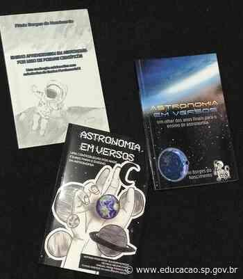 Dia Nacional do Livro: Diretoria Guarulhos Sul publica série de títulos que reúne astronomia e poesia - Secretaria da Educação do Estado de São Paulo
