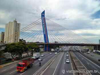 Rodovia Presidente Dutra com lentidão após engavetamento em Guarulhos nesta terça (27) - Via Trolebus