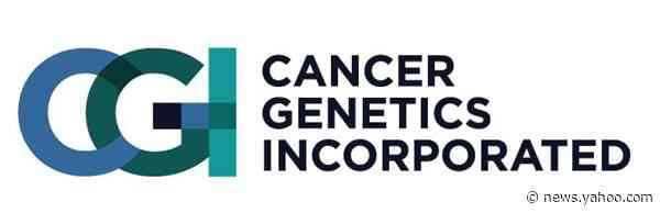 Cancer Genetics, Inc. Increases Previously Announced Bought Deal to $3.0 Million