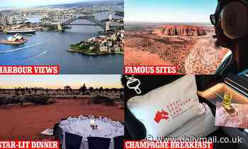 Qantas launches 'flight to somewhere' including a champagne breakfast, amazing views and dinner