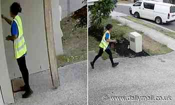Australia postal worker runs away after claiming they tried to deliver non-existent parcel