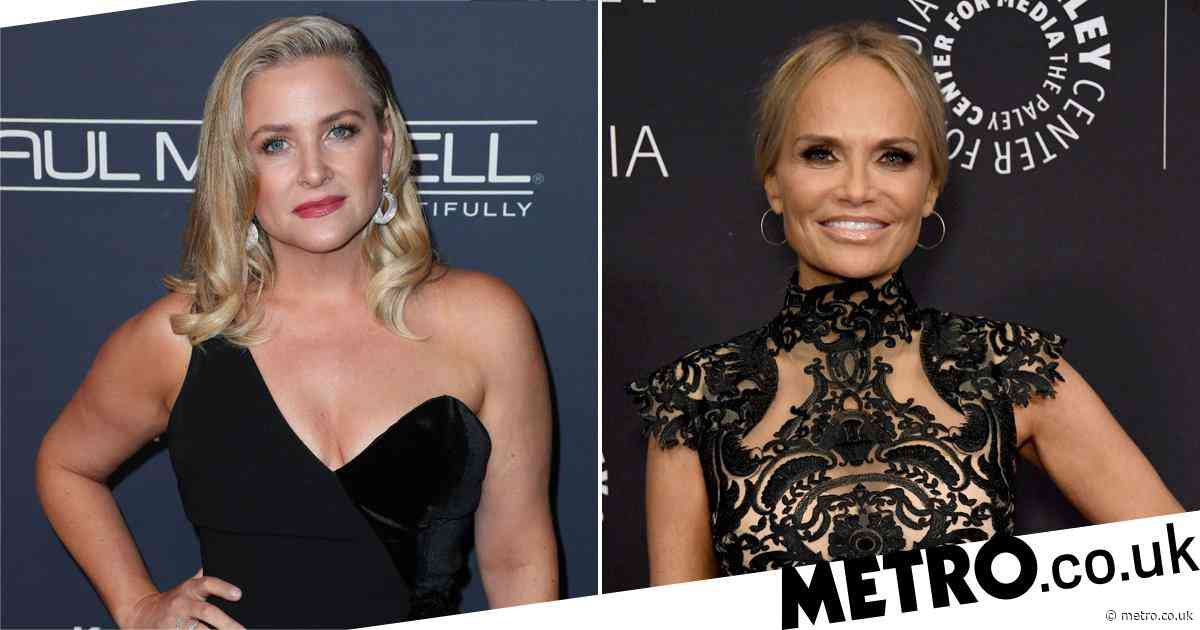 Holidate's Jessica Capshaw reveals hilarious text messages she receives from co-star Kristin Chenoweth