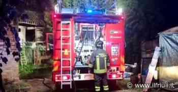 Codroipo, incendio nella centrale via Mazzini - Il Friuli